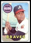 1969 Topps #300  Felipe Alou  Front Thumbnail