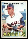 1967 Topps #193  Jose Cardenal  Front Thumbnail