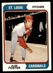 1974 Topps #442  Alan Foster  Front Thumbnail