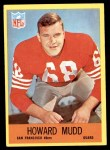 1967 Philadelphia #175  Howard Mudd  Front Thumbnail