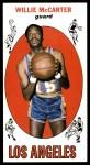 1969 Topps #63  Willie McCarter  Front Thumbnail