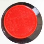 1962 Salada Coins #88 CLE Jim Jimmy Piersall    Back Thumbnail
