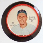 1962 Salada Coins #88 CLE Jim Jimmy Piersall    Front Thumbnail