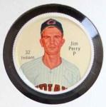 1962 Salada Coins #32  Jim Perry  Front Thumbnail