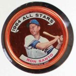 1964 Topps Coins #146   -   Ron Santo All-Star Front Thumbnail