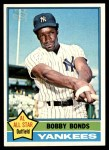 1976 Topps #380  Bobby Bonds  Front Thumbnail