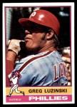 1976 Topps #610  Greg Luzinski  Front Thumbnail