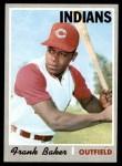 1970 Topps #704  Frank Baker  Front Thumbnail