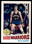1977 Topps #130  Rick Barry  Front Thumbnail