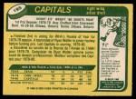 1980 O-Pee-Chee #195  Mike Gartner  Back Thumbnail