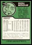 1977 Topps #119  Ron Boone  Back Thumbnail