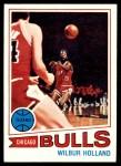 1977 Topps #53  Wilbur Holland  Front Thumbnail