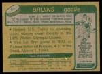 1980 Topps #22   -  Jim Craig Team USA Back Thumbnail