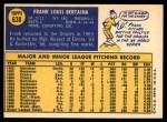 1970 Topps #638  Frank Bertaina  Back Thumbnail