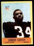 1967 Philadelphia #2  Junior Coffey   Front Thumbnail