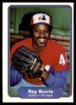 1982 Fleer #184  Ray Burris  Front Thumbnail