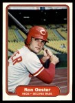 1982 Fleer #79  Ron Oester  Front Thumbnail