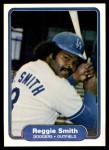 1982 Fleer #23  Reggie Smith  Front Thumbnail