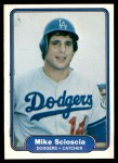 1982 Fleer #22  Mike Scioscia  Front Thumbnail