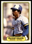 1982 Fleer #140  Marshall Edwards  Front Thumbnail