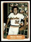 1982 Fleer #182  Steve Stone  Front Thumbnail