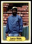 1982 Fleer #144  Larry Hisle  Front Thumbnail