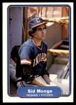 1982 Fleer #375  Sid Monge  Front Thumbnail