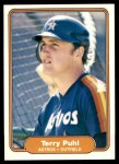 1982 Fleer #223  Terry Puhl  Front Thumbnail