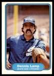 1982 Fleer #349  Dennis Lamp  Front Thumbnail