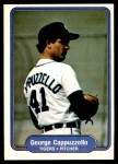 1982 Fleer #264  George Cappuzzello  Front Thumbnail