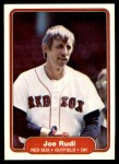 1982 Fleer #306  Joe Rudi  Front Thumbnail