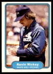 1982 Fleer #344  Kevin Hickey  Front Thumbnail