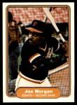 1982 Fleer #397  Joe Morgan  Front Thumbnail