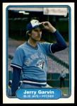 1982 Fleer #614  Jerry Garvin  Front Thumbnail
