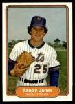 1982 Fleer #528  Randy Jones  Front Thumbnail