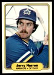 1982 Fleer #513  Jerry Narron  Front Thumbnail