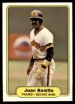 1982 Fleer #567  Juan Bonilla  Front Thumbnail
