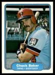 1982 Fleer #561  Chuck Baker  Front Thumbnail