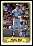 1982 Fleer #519  Richie Zisk  Front Thumbnail