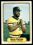 1982 Fleer #489  Dave Parker  Front Thumbnail