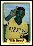 1982 Fleer #499  Willie Stargell  Front Thumbnail
