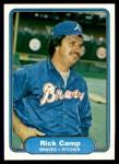1982 Fleer #432  Rick Camp  Front Thumbnail
