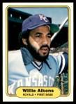1982 Fleer #404  Willie Aikens  Front Thumbnail