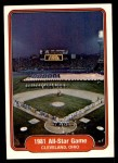 1982 Fleer #628   1981 All Star Game Front Thumbnail