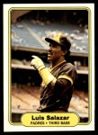 1982 Fleer #581  Luis Salazar  Front Thumbnail