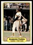 1982 Fleer #579  Broderick Perkins  Front Thumbnail