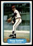 1982 Fleer #551  Doug Corbett  Front Thumbnail