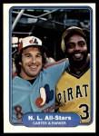 1982 Fleer #638  Gary Carter  /  Dave Parker  Front Thumbnail