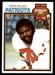 1979 Topps #441  Tony McGee  Front Thumbnail