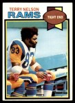 1979 Topps #479  Terry Nelson  Front Thumbnail